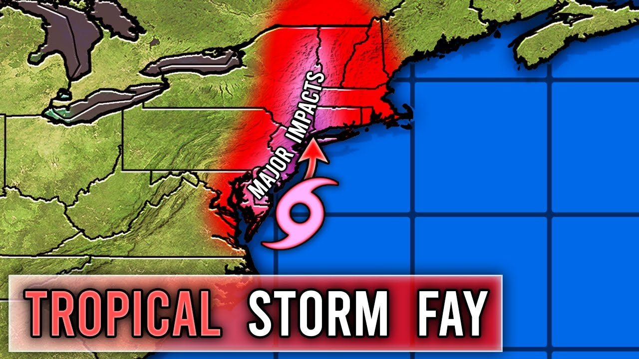 Tropical Storm Fay Forecast