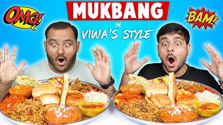 EPIC MUKBANG IN VIWA'S STYLE | Indian Food Mukbang | Food Eating Competition | Viwa Food World