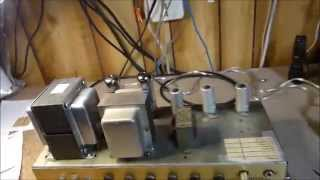 Marshall Model 1986 (built 1969) Modified, Repaired, and Checked Out
