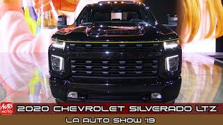 2020 Chevrolet Silverado LTZ - Exterior And Interior - debut at LA Auto Show 2019
