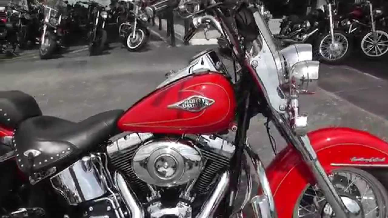 020401 - 2010 Harley Davidson Heritage Softail Classic FLSTC - Used Motorcycle For Sale - YouTube