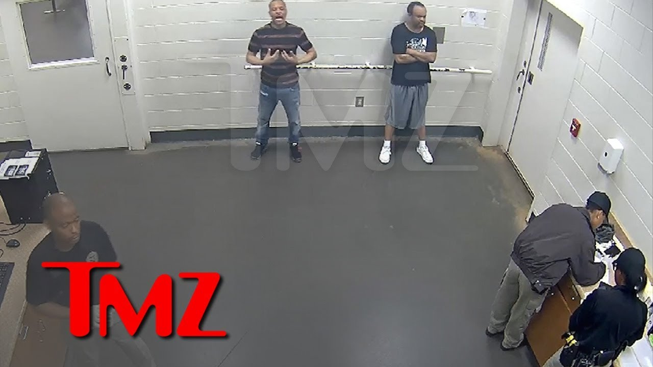 T.I. and Cop Argue About Reason for His Arrest in Jailhouse Video