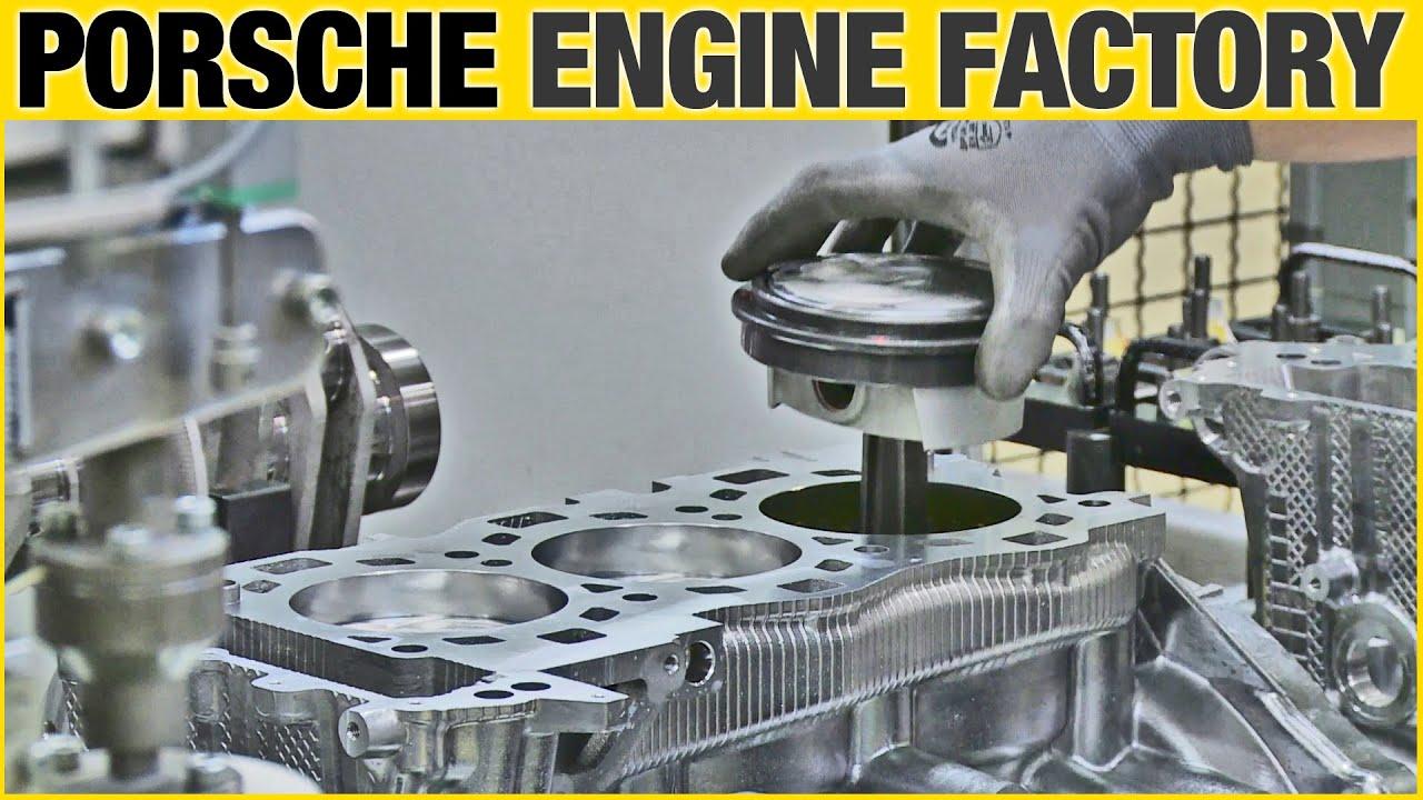 CAR FACTORY: Porsche 911 Engine (Type 991)