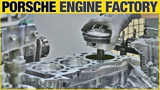 CAR FACTORY: Porsche 911 Engine (Type 991)