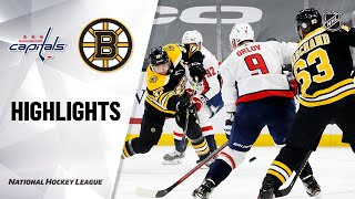 Capitals @ Bruins 3/5/21 | NHL Highlights