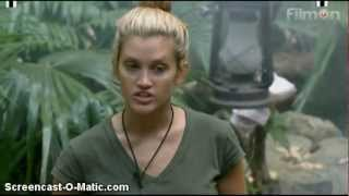 Ashley Roberts as the jungle couture model - I
