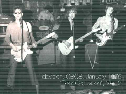 Television - Poor Circulation - January 1975 - Version 2