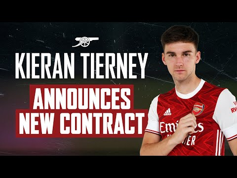 LIVE | Kieran Tierney signs new long-term Arsenal contract!