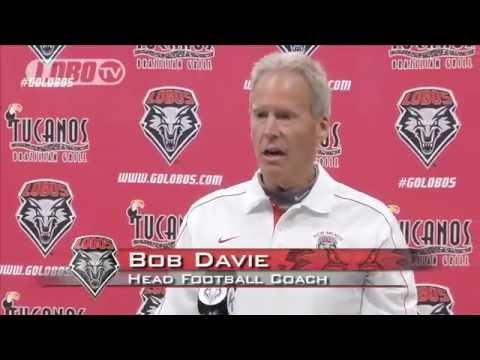 2012 Lobo Football | Coach Bob Davie: Post-Nevada Press Conference