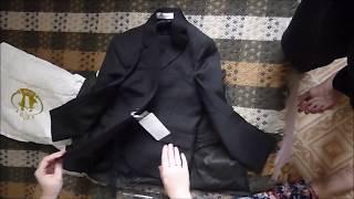 Распаковка посылки из Китая: костюм-тройка для мальчика