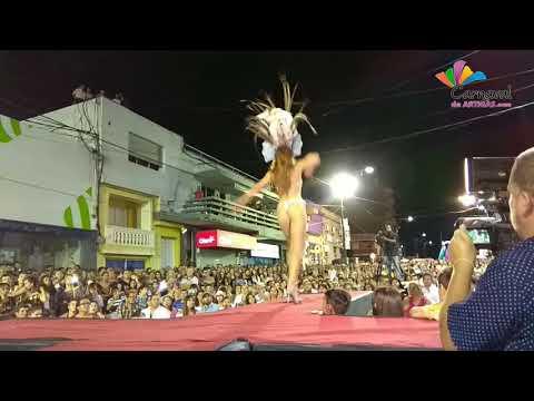 Elección de la Reina del Carnaval de Artigas 2018 - Desfile con Fantasias de Carnaval