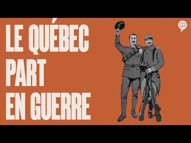 Le Québec forcé à la conscription ! | L'Histoire nous le dira jeunesse #4