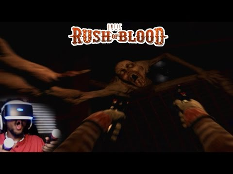 THESE MONSTERS TRAINED WITH GOKU 100% | Until Dawn: Rush of Blood (PSVR)