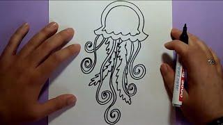 Como dibujar una medusa paso a paso 2 | How to draw a medusa 2