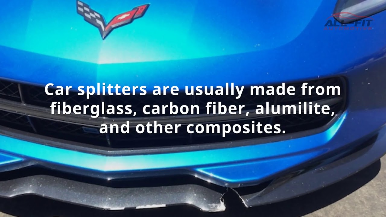 Car Lip Splitters - What Are They and How Do They Work