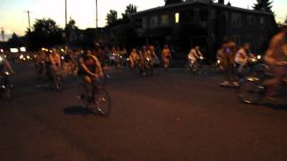 2015 Portland World Naked Bike Ride