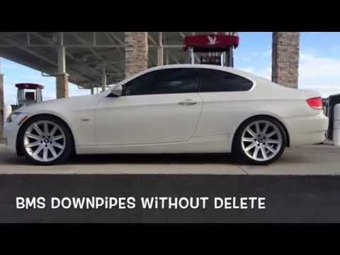 Muffler Delete Before After with Drive By BMW E90 E92 335i N54