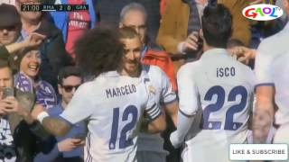 Real Madrid vs Granada 5-0 All Goals & Highlights | GAOL TV