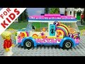 Colorful Lego Car . Cars for Kids . Lego Cars Racing