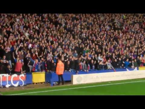 Crystal Palace - Fulham 21.10.2013 We love you, we love you, ....