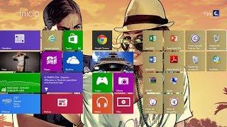 Como cambiar fondo Principal a Windows 8