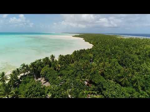 Tarawa Lagoon Capital Island of Kiribati