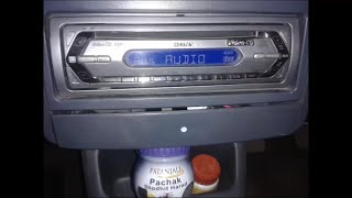 Turn / convert old car CD-FM stereo player into Bluetooth player. Hack Bluetooth in SONY CDX-V2800