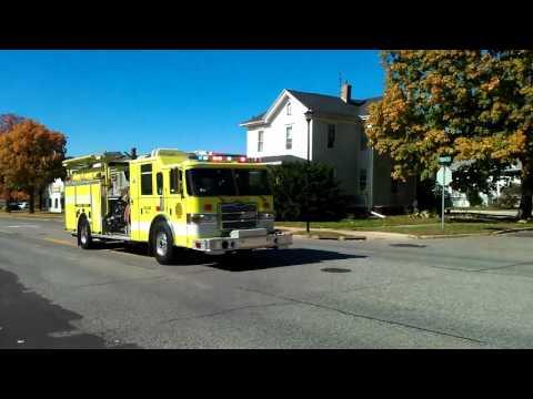 Washington Engine 3 responding