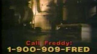 Freddy Kruger 900 Number Hotline