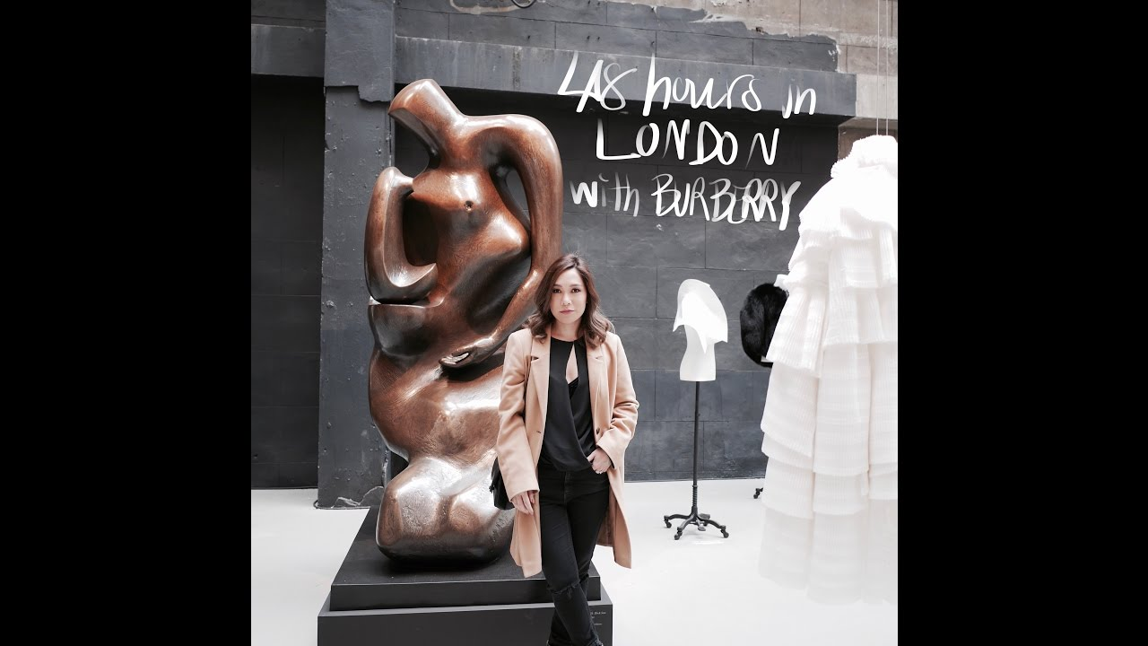 VLOG - DAILYCHERIE : 48 Hours in London with Burberry Beauty.