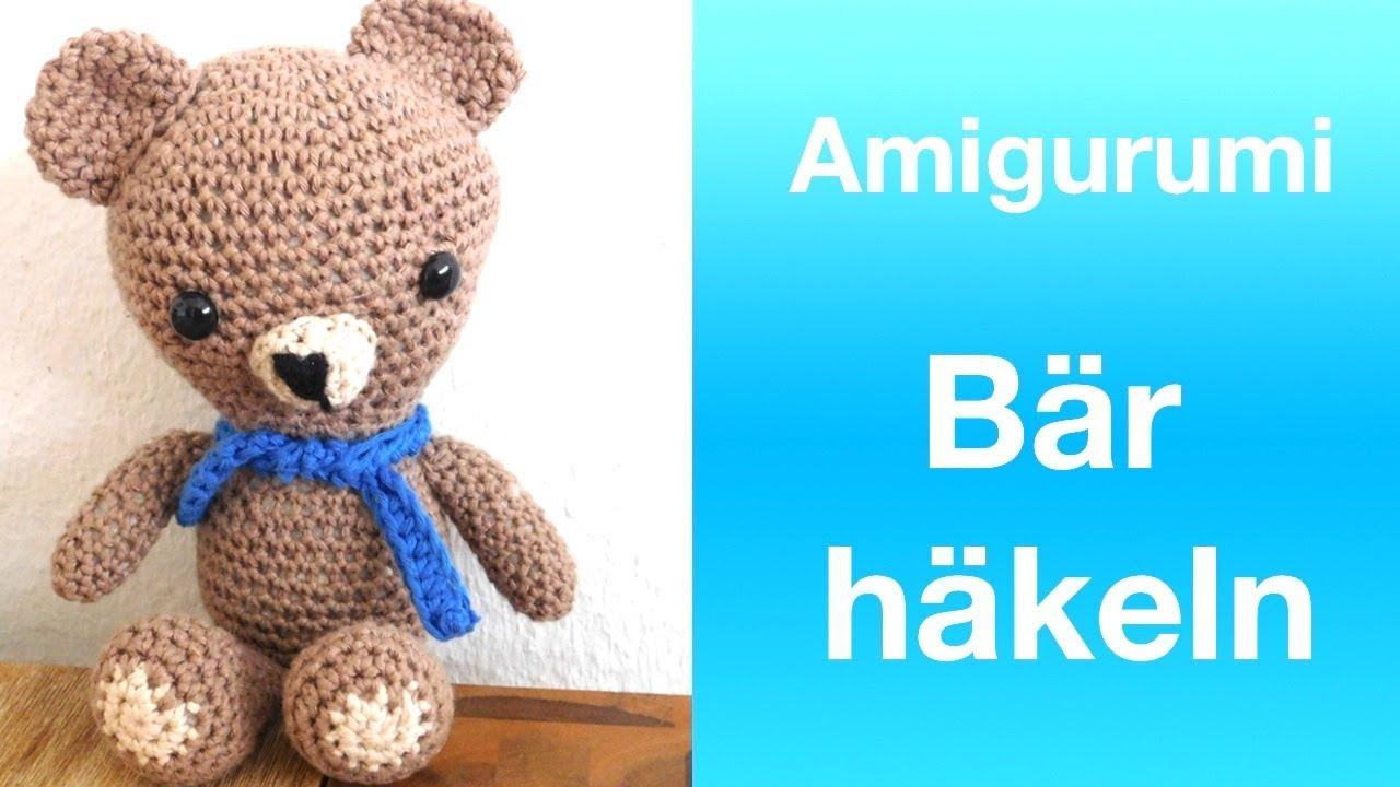 Bär Häkeln Amigurumi Teddybär Häkeln Youtube