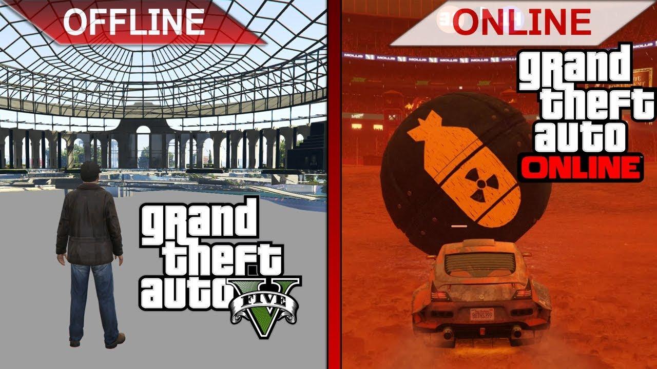 GTA V – OFFLINE vs. ONLINE | 2019