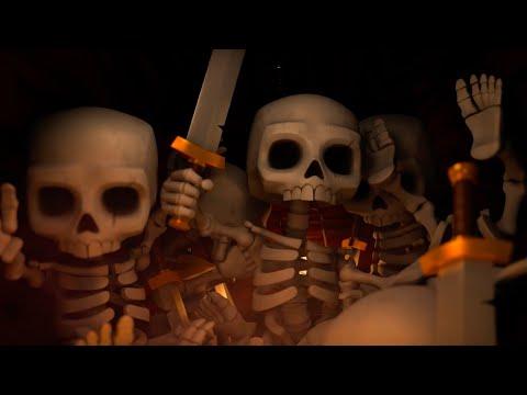 Clash Royale Official Skeleton Barrel Trailer