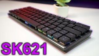 NEW Cooler Master SK621 Wireless 60% RGB Mechanical Keyboard Review