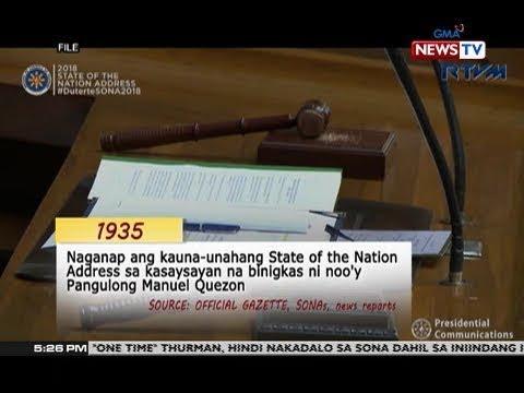 QRT: Dating presidenteng Ferdinand Marcos ang presidenteng may pinaka maraming SONA