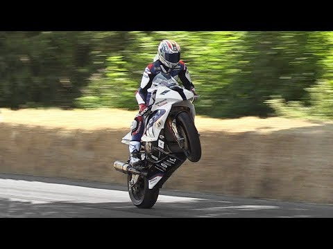Best of Motorcycles at Festival of Speed 2018: NEW Moto2 2019, Superbikes, Top Fuel, 2-Strokes!
