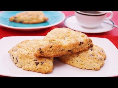 Chocolate Chip Scones Recipe: Easy! Mom's Best Scones! How To Make: Di Kometa-Dishin' With Di #105
