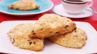 Chocolate Chip Scones Recipe: Easy! Mom's Best Scones! How To Make: Di Kometa-dishin' With Di #105