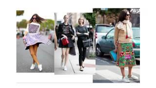 الحذاء الأبيض.. وكيفية ارتدائه مع كافة أنواع الملابس