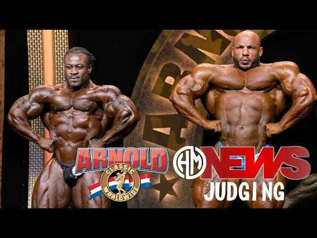 2020 Arnold Sports Festival - Arnold Classic, Bodybuilding Open, Judging.