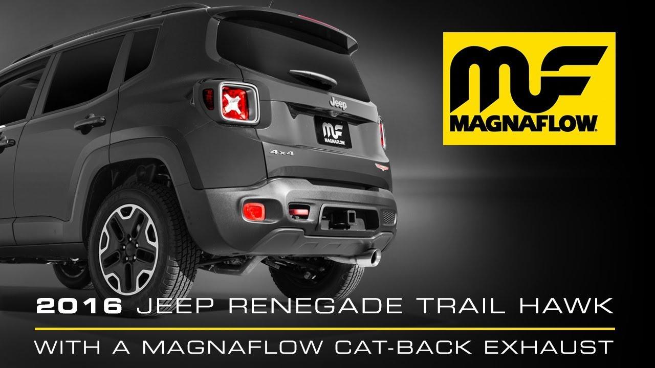 2016 Jeep Renegade Trail Hawk 2 4l With Magnaflow Cat Back