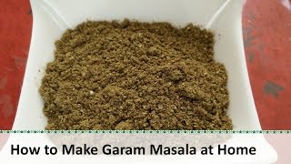 Gambar cover How to make Garam Masala | Homemade Garam Masala Recipe by Healthy Kadai
