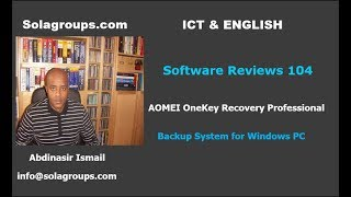 Software Reviews 104 AOMEI OneKey Recovery