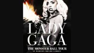 #14 Lady Gaga The Monster Ball HBO Special Audio - Monster