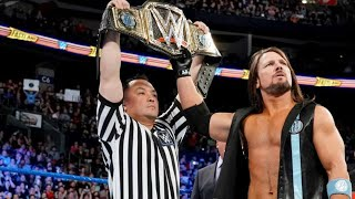 Why AJ Styles Needs To Lose The WWE Title