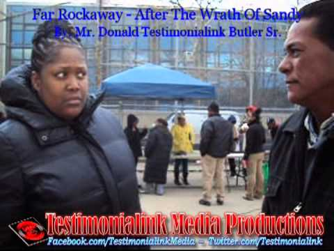 The Wrath Of Hurricane Sandy - Far Rockaway