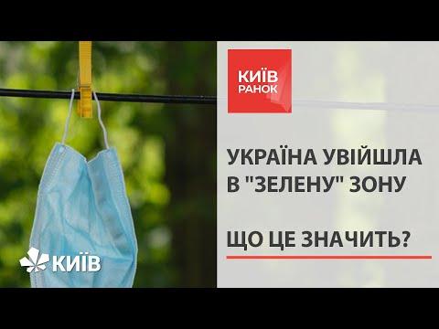 Україна увійшла в «зелену» карантинну зону за критеріями ЄС