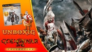 Unboxing God of  War Saga Collection - PS3 [PT-BR]
