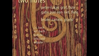 Peter-Lukas Graf - Johann Sebastian Bach: Trio Sonata in G Major for Two Flutes & B.C., BWV 1039