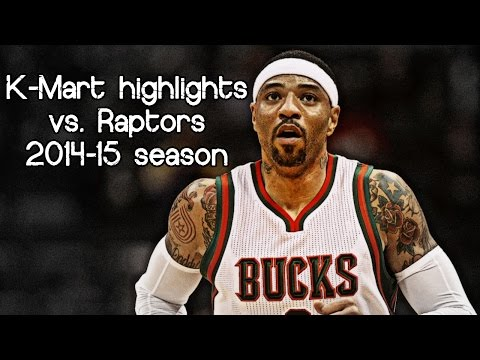 Kenyon Martin in his last NBA game (NBA RS 2014/2015 - Milwaukee Bucks vs. Toronto Raptors)